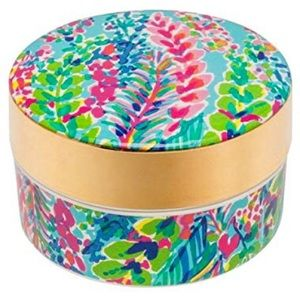 NEW Lilly Pulitzer Ring Dish w Lid Catch The Wave